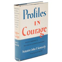 Profiles in Courage 1st Edition inscribed and signed by John F. Kennedy.