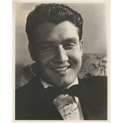 George Reeves signed photograph.