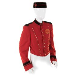 "Johnny Roventini ""Bellhop"" signature ""Call For Philip Morris"" costume from the iconic ad campaign."