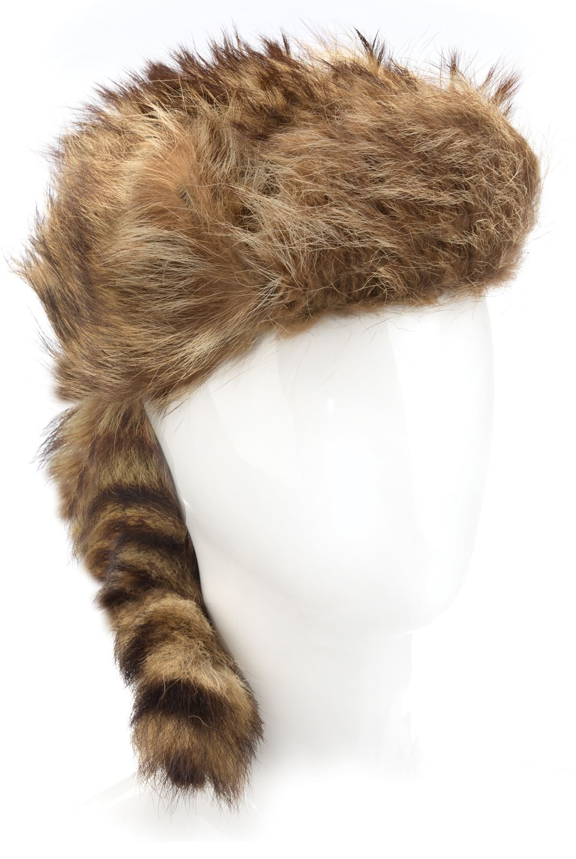 "Image 1   Fess Parker ""Davy Crockett"" coonskin hat from Walt Disney s  Wonderful World ... c11816fb0fd0"