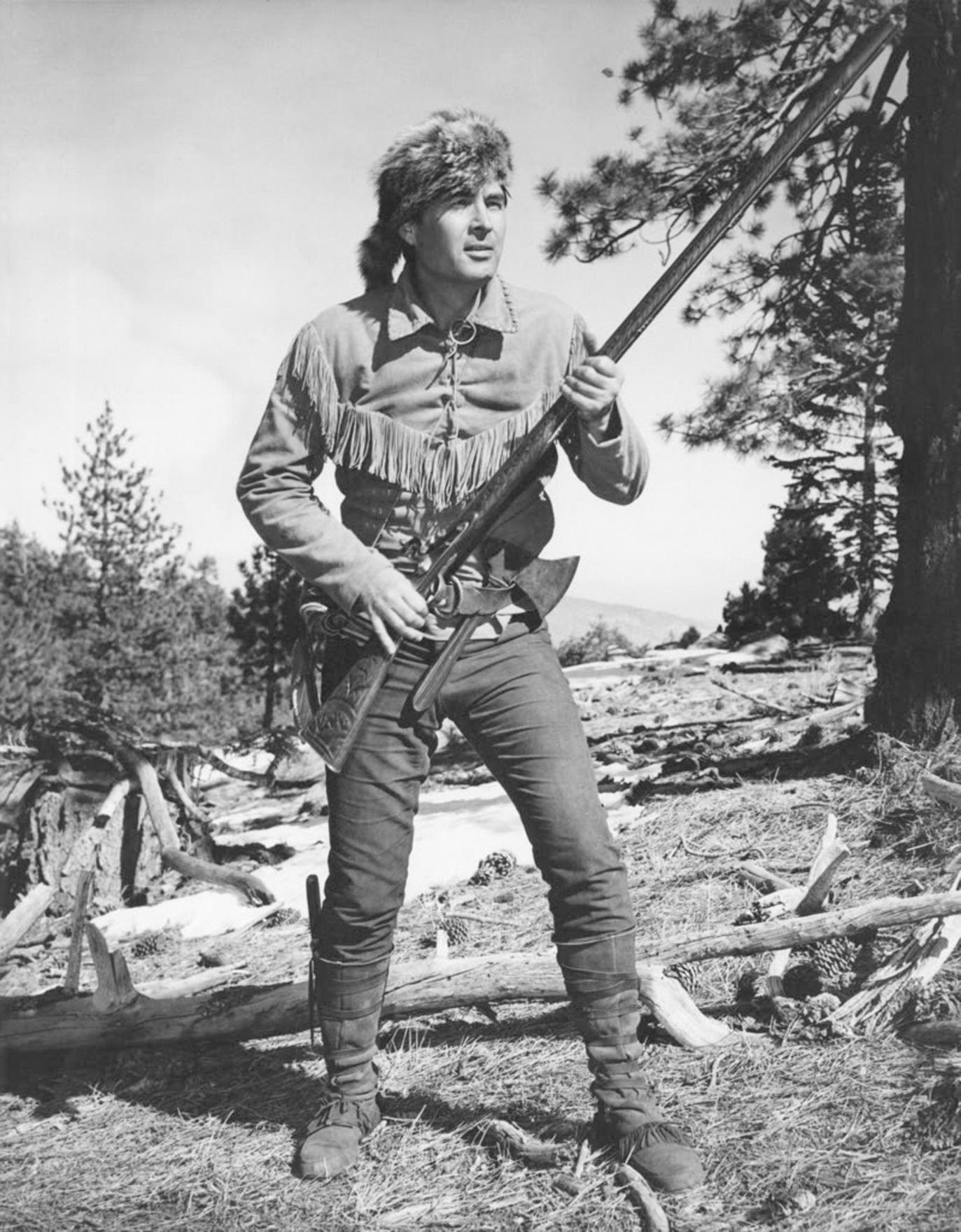 "d7a85999b01 ... Image 2   Fess Parker ""Davy Crockett"" coonskin hat from Walt Disney s  Wonderful World ..."