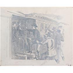 Whispering Smith (3) western scene title art.