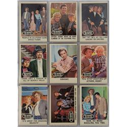 Topps complete set of (66) Beverly Hillbillies trading cards.