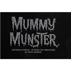 "The Munsters Season 1, Episode 32 ""Mummy Munster"" original title art."