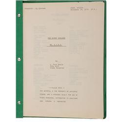 """The Night Stalker, Episode: """"Mister R.I.N.G"""" script."""