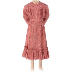 """Melissa Gilbert """"Laura Ingalls"""" signature red dress from Little House on the Prairie."""
