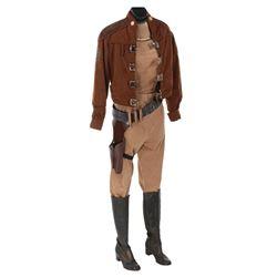 "Anne Lockhart ""Lt. Sheba"" Colonial Warrior costume fromBattlestar Galactica."