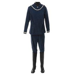 """MarenJensen """"Athena"""" dress uniform and boots from Battlestar Galactica."""
