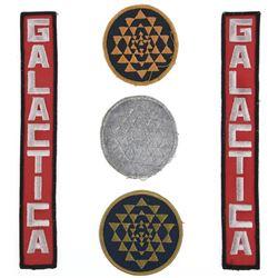 Battlestar Galactica(5) patches from original TV Series.