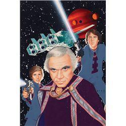 Battlestar Galactica artwork by David EdwardByrd for TV Guide cover.