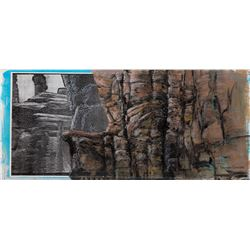 Xena: Warrior Princess archive of (8) art direction materials by Harrison Ellenshaw.