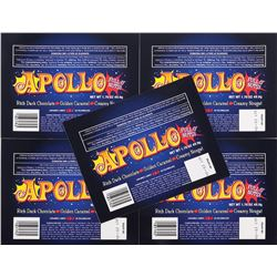 "Lost (5) ""Apollo Bar"" wrappers."