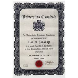 "Jeremy Davies ""Daniel Faraday"" hero Oxford University diploma & ""Fission Chain Reaction"" schematic."