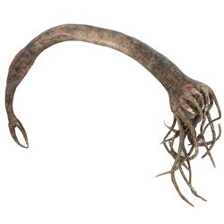 "Fringe ""Snakehead"" creature tendril prop."