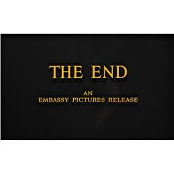 """The End"" title from Embassy Pictures."