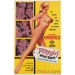 Jayne Mansfield 1-sheet poster for Playgirl After Dark.