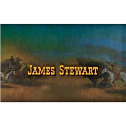 James Stewart credit art from How the West Was Won.
