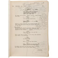 Safe at Home! personal annotated script from Story Creator and Producer Tom Naud.