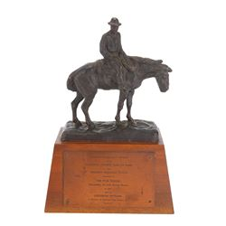 Western Heritage Award presented to Universal Pictures for The War Wagon starring John Wayne.