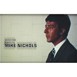 Director Mike Nichols original title credit from The Graduate.
