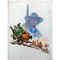 A Stranger In Town original final poster art.