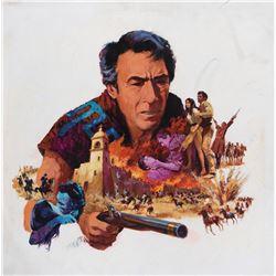 Guns for San Sebastian poster concept art.