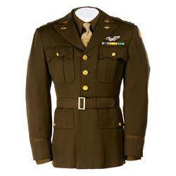 "Steve McQueen ""Buzz Rickson"" Officer's jacket, shirt, and tie from The War Lover."
