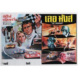 Le Mans Thai poster.