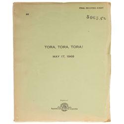 Tora, Tora, Tora! Final Shooting Script.