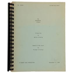 The Andromeda Strain Estimating Draft script.