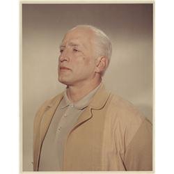 Patton collection of director Franklin Schaffner makeup test photographs.