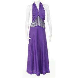 "Liza Minnelli ""Sally Bowles"" purple ""Cabaret"" performance dress from Cabaret."