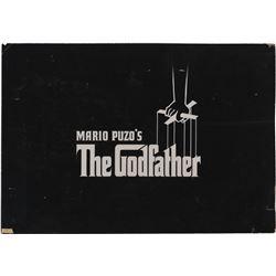 Mario Puzo's The Godfather original opening title art.