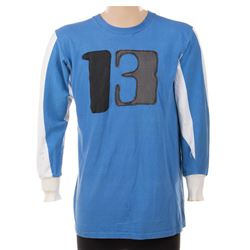 Highlight reel team screen used #13 jersey from Rollerball.