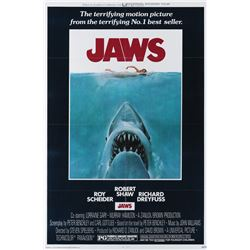 Jaws unused 1-sheet poster.