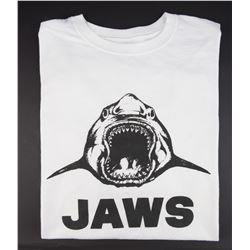 Jaws cast and crew T-shirt.