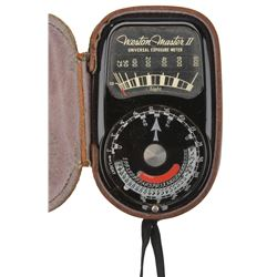 Jaws light meter used in filming by underwater photographer Rexford Metz.
