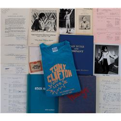 Andy Kaufman extensive archive of scripts, manuscripts, photographs, and ephemera.