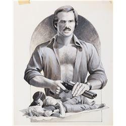 "Burt Reynolds ""Gator"" concept poster art for Gator."