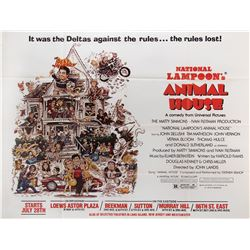 Animal House advance subway poster.