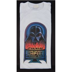 "Star Wars: The Empire Strikes Back rare vintage 1979 ""Vader in Flames"" crew t-shirt."