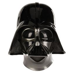 """Darth Vader"" helmet made by ILM for promotion of Star Wars: Episode VI - Return of the Jedi."