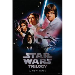Star Wars: Episode IV - VI (8) later release 1-sheet posters.