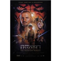 Star Wars: Episodes I, II, and The Clone Wars (5) 1-sheet posters.