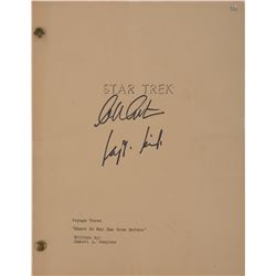 "Star Trek: The Original Series Pilot script""Where No Man Has Gone Before"" from the Desilu vault."