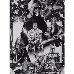 Star Wars: Episode I - The Phantom Menace illustration by John Stanisci.