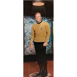 Star Trek: The Original Series (2) commercial door panel posters of Captain Kirk and Spock.