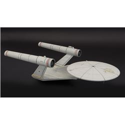 Ralph McQuarrie designed concept model of the U.S.S. Enterprise for never-realized Star Trek film.