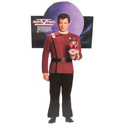"""Star Trek collection of (4) advertising standees including """"Kirk"""", """"Spock"""" and """"The Enterprise""""."""