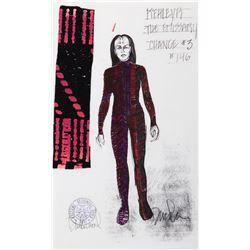 "Susie Plakson ""K'Ehleyr"" (2) working costume sketches by Durinda Wood for Star Trek: TNG."